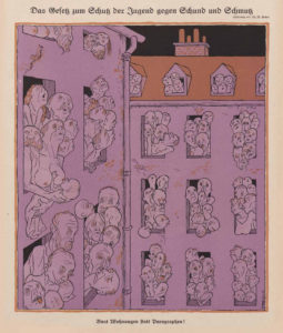 "Thomas Theodor Heine : ""The Law On Protection Of Minors Ggainst Filth And Dirt"" 1926"