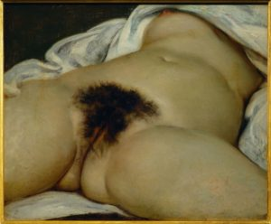 """Gustave Courbet : """"L'Origine du monde"""" 1866 - Paris - musée d'Orsay"""