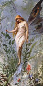 "Luis Ricardo Falero : ""Lily Fairy"" 1888"