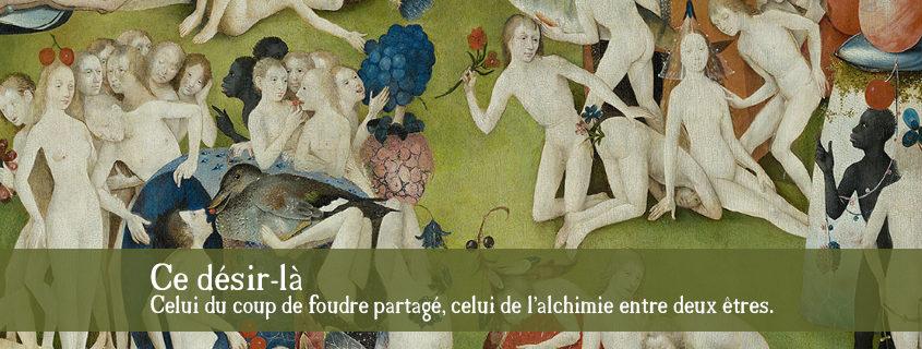 """Jérôme Bosch, """"Le Jardin des Délices, l'Humanité"""", panneau central, détail."""