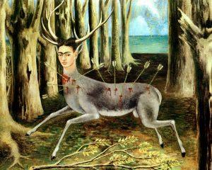 Le cerf blessé - 1946 - Frida Kahlo