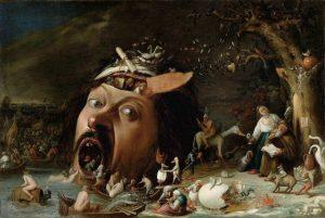 La Tentation de Saint Antoine - Joos van Craesbeeck - vers 1650